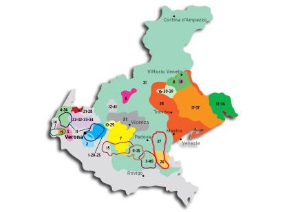 Veneto, todas las denominaciones.