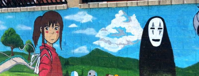 Muro pintado por Sergare.